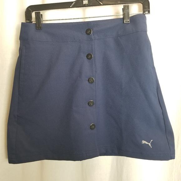 Puma Dresses & Skirts - Puma golf tennis workout skirt size 10 blue